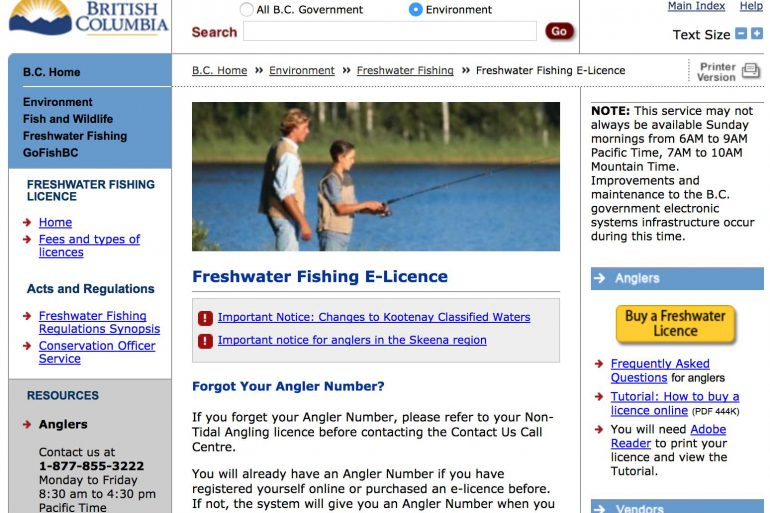 www.fishing.gov.bc.ca