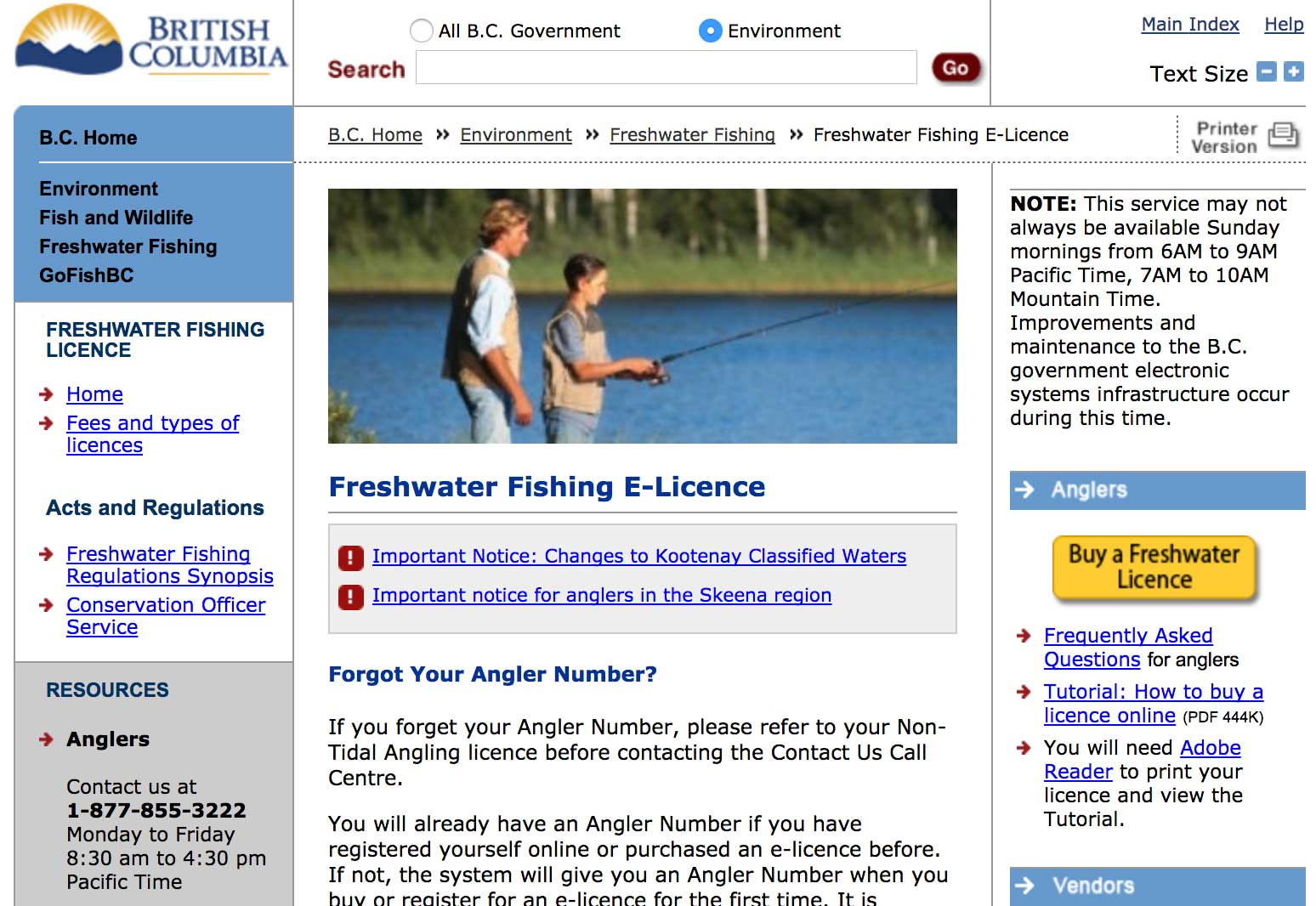 Current Vendors List Of Recreational Sport Fishing Licenses Bc Outdoors Magazine