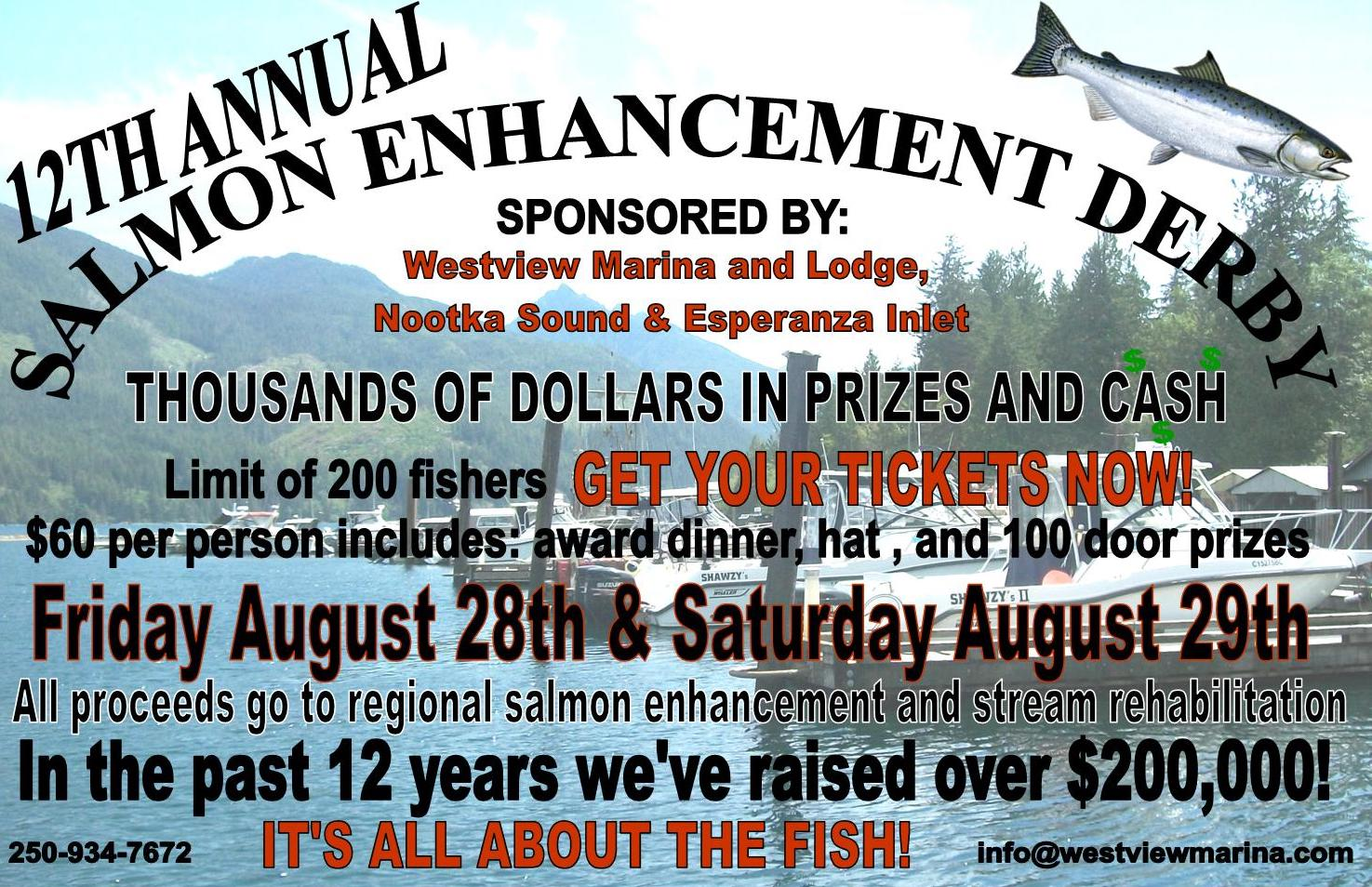 12th Annual Salmon Enhancement Derby