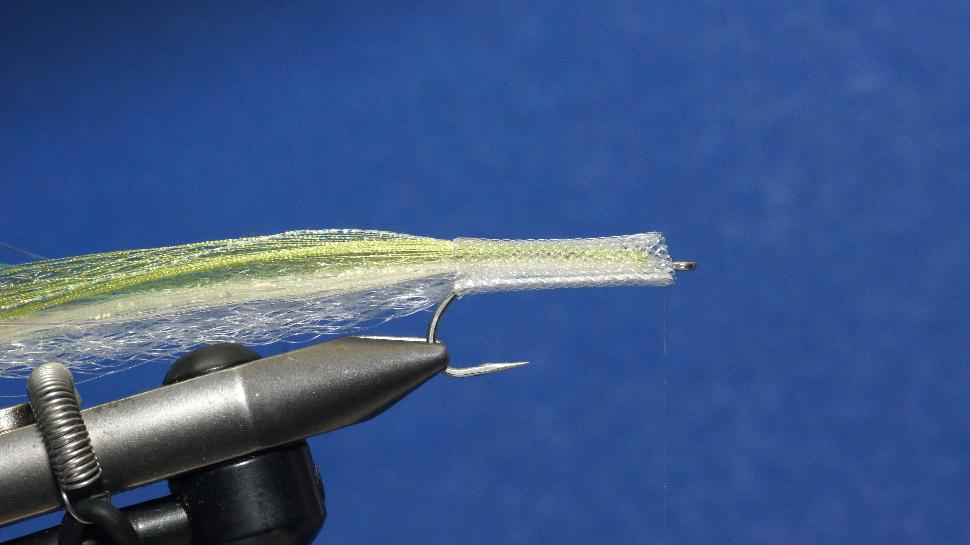 Step 5 tying instructions for the EZ-Body Surf Candy