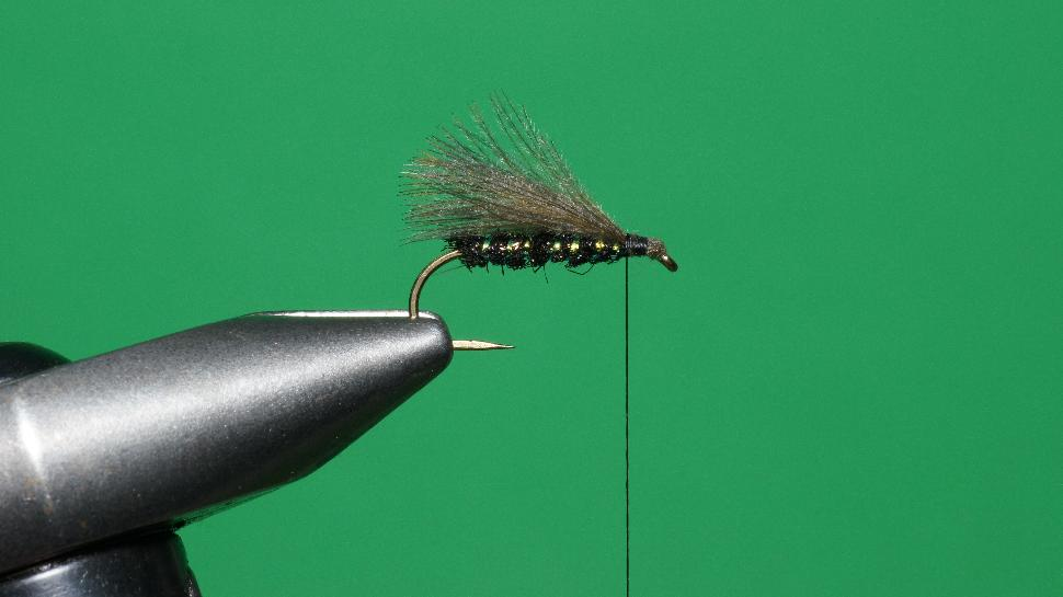 Step 4 tying instructions for the Bristol Hopper
