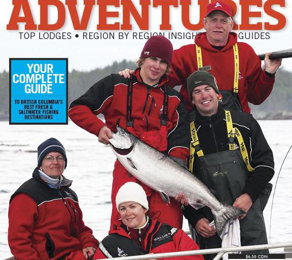 BC Outdoors 2014 Fishing Adventures cover