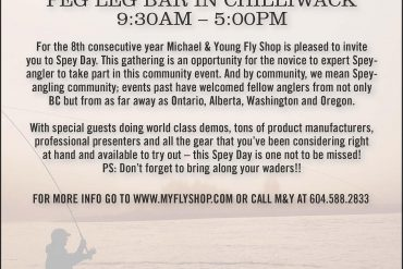 April 13 is M&Y's 8th Annual Spey Day