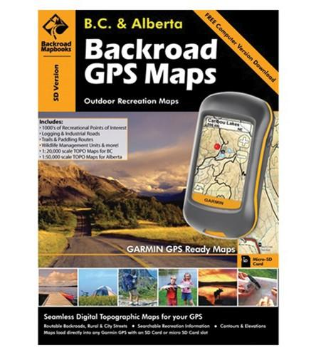 Backroads Mapbook & GPS Maps