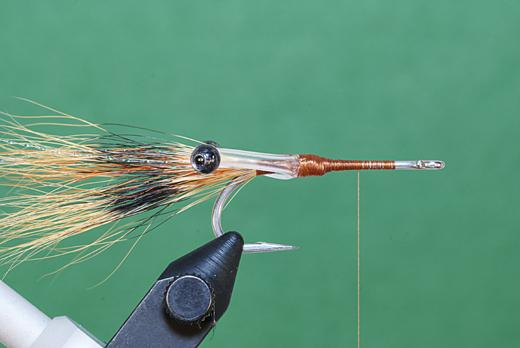 Step 3 tying instructions for the JC Crayfish