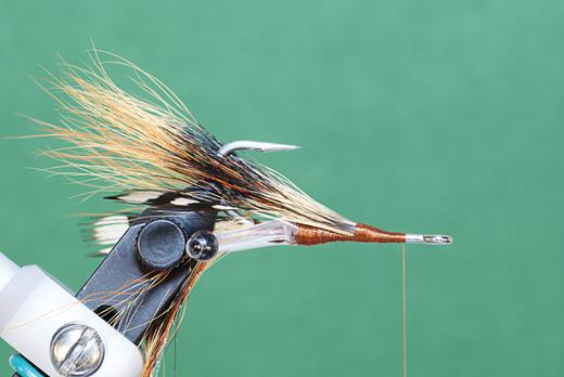 Step 5 tying instructions for the JC Crayfish