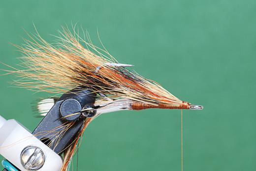 Step 6 tying instructions for the JC Crayfish