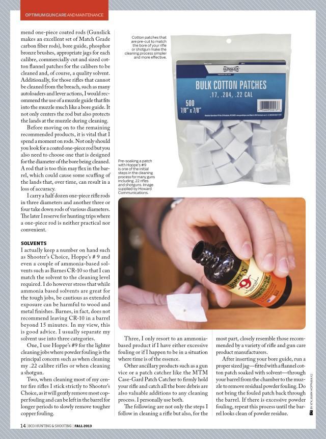 BCOHS Gun Maintenance Page 2