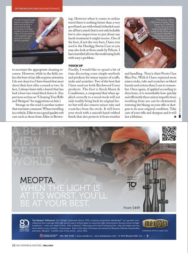 BCOHS Gun Maintenance Page 6
