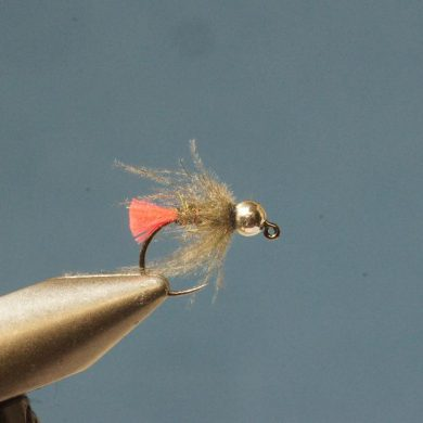 Step 7 tying instructions for the CDC Red Tag