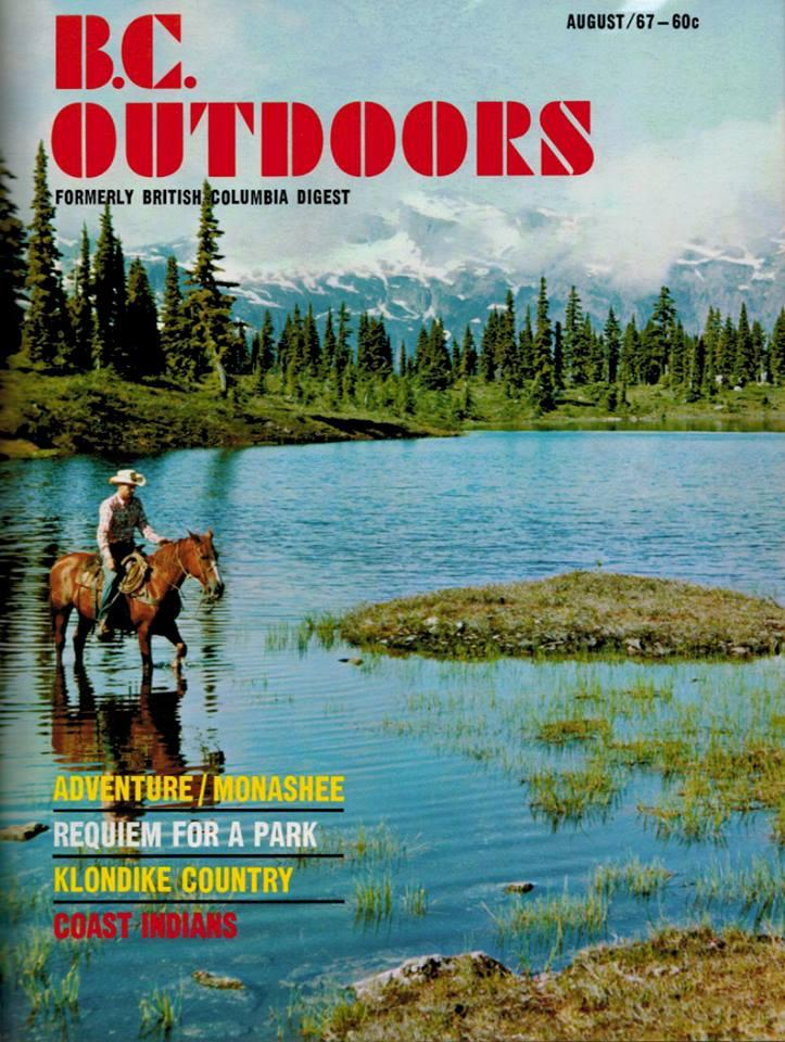 The original 1967 cover of BC Outdoors