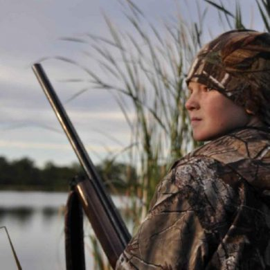 Hunting waterfowl