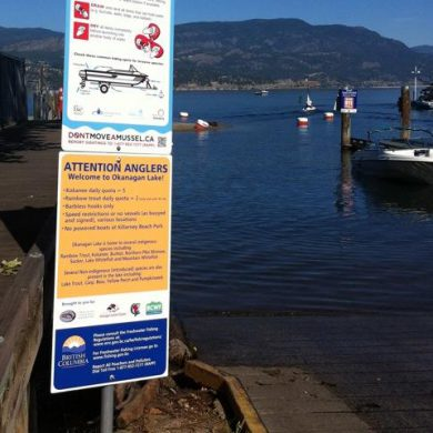 Okanagan Lake Fishery Signage Program