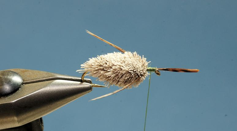 Step 6 tying instructions for the Gomphus