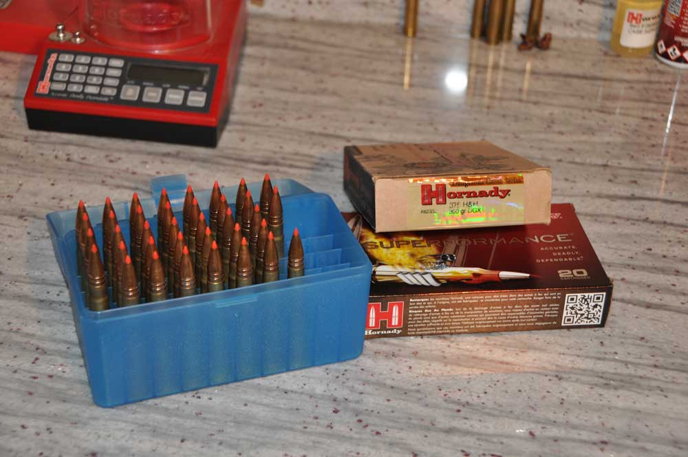 Factory ammunition versus handloads. Why not both? Credit: T.J. Schwanky.