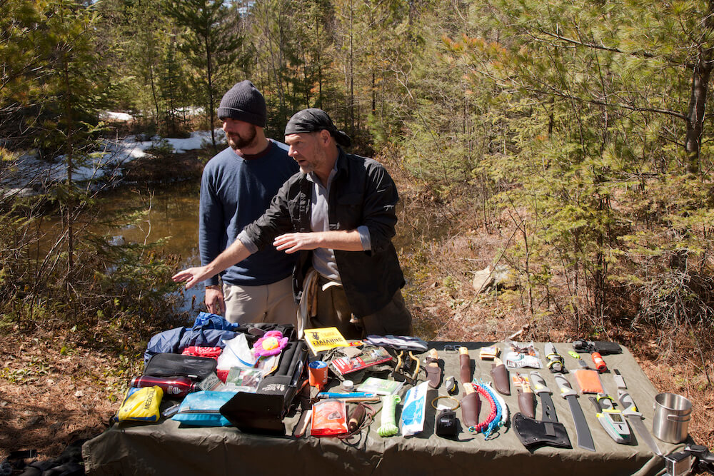 It's important to choose the components that go into your survival kit, and make sure you know how to use them.