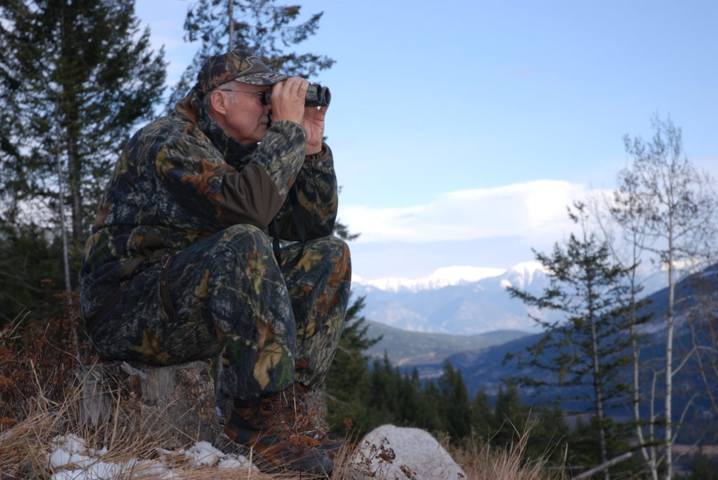 Glassing for sheep is an essential and often time-consuming component of any sheep hunt, a must for success.