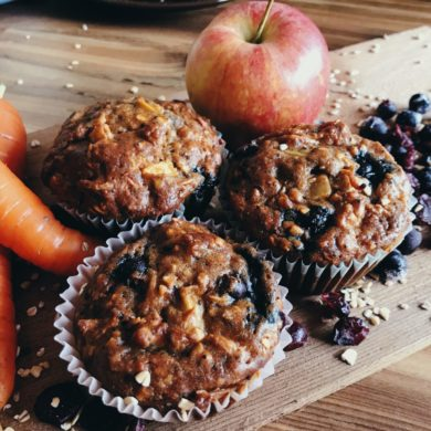 Berry Delicious Breakfast Muffins by Raeanne O'Meara.