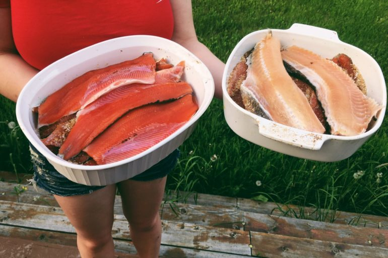 Honey Maple Smoked Fish. Credit: Raeanne O'Meara.