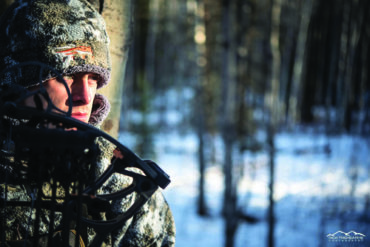 The first and last 15 minutes of legal light is prime time for hunting whitetails. Photo by Nick Trehearne.