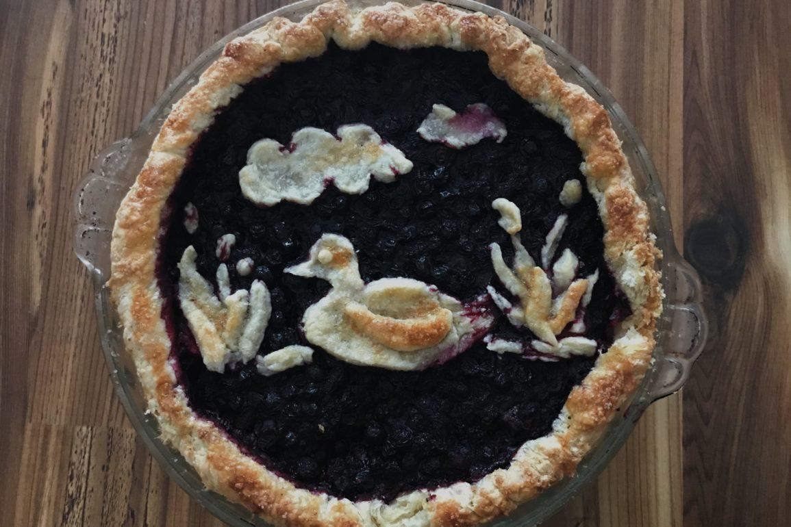 Huckleberry Pie. Credit: Raeanne O'Meara.