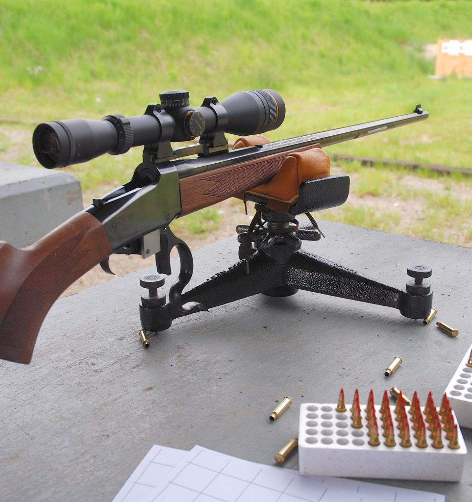 On the range, the Winchester Model 1885 .17 WSM was a blast to shoot right out to 300 yards.