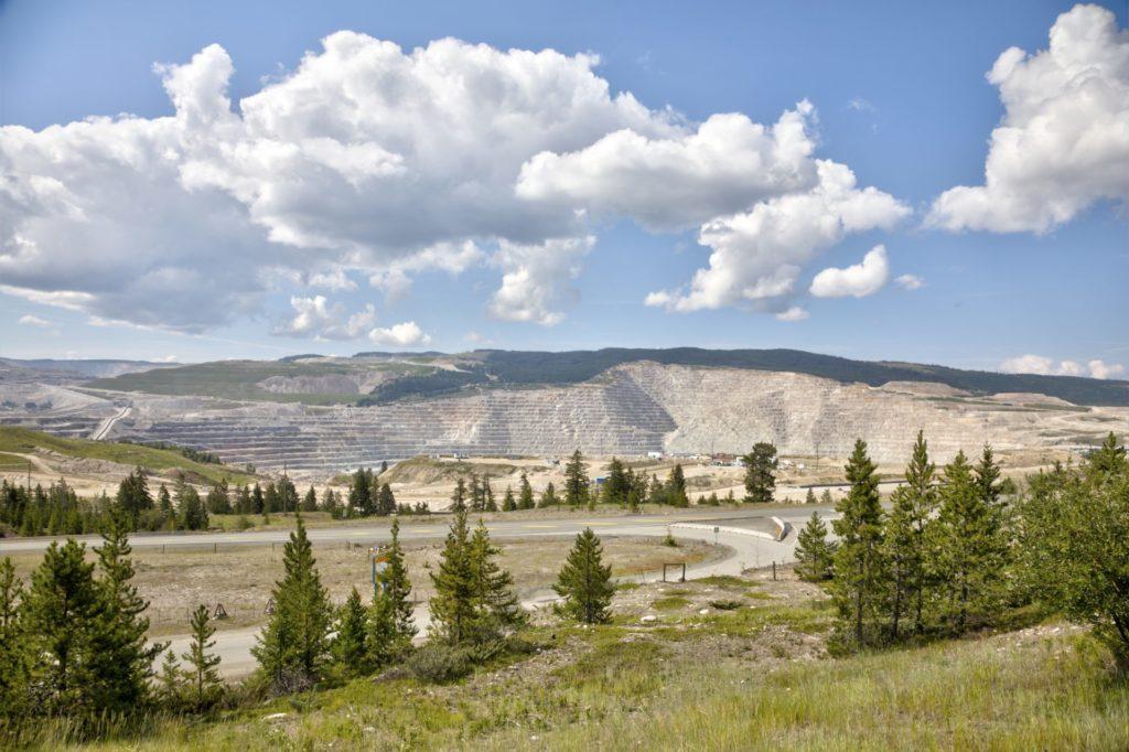 Highland Valley Copper mine.