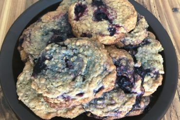 Huckleberry Oatmeal Cookies by Raeanne O'Meara.