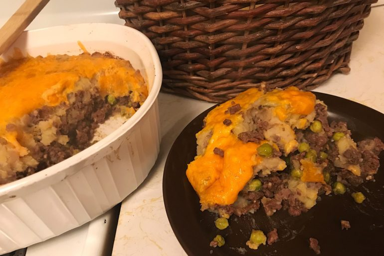 Wild Cottage Pie. Credit: Raeanne O'Meara.