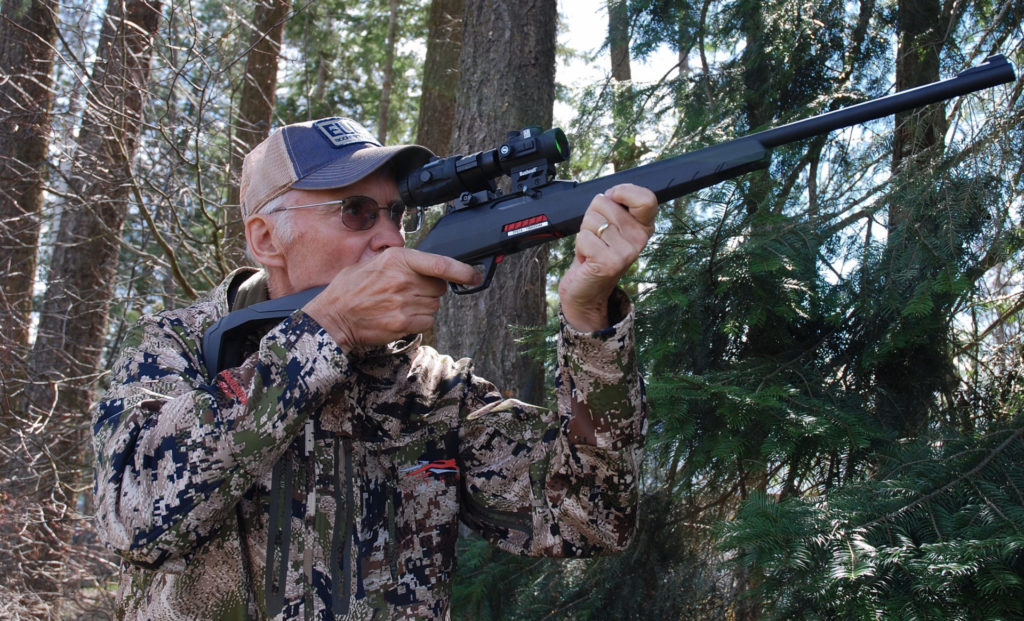 Mark Hoffman with the Winchester Wildcat.