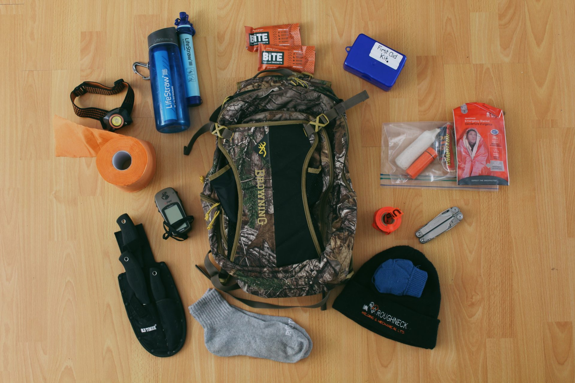 Prepping A Daypack For The Year by Raeanne O'Meara.