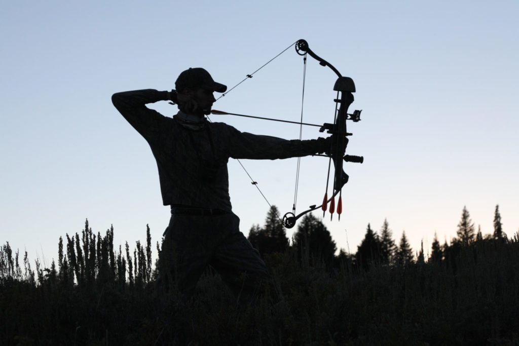 A stabilizer goes a long way to help your bow become more balanced, which results in tighter groupings downrange. Photo by iStock.