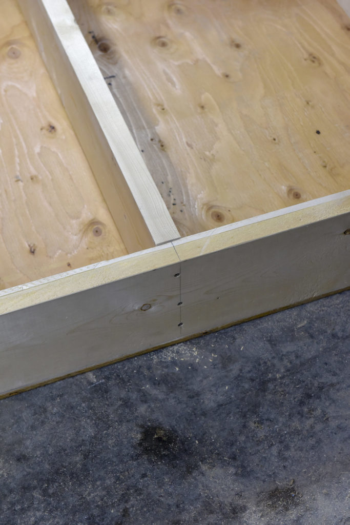 This DIY project uses simple joinery like butt joints.