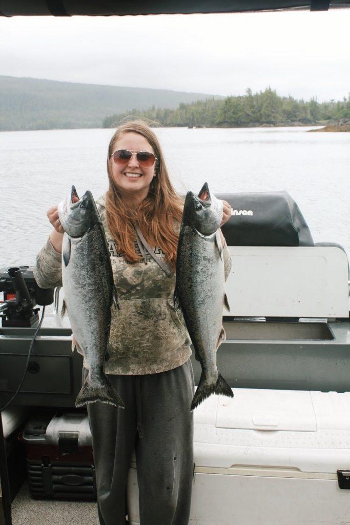 Salmon. Credit: Raeanne O'Meara.
