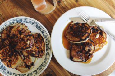 Huckleberry pancakes. Credit: Raeanne O'Meara.
