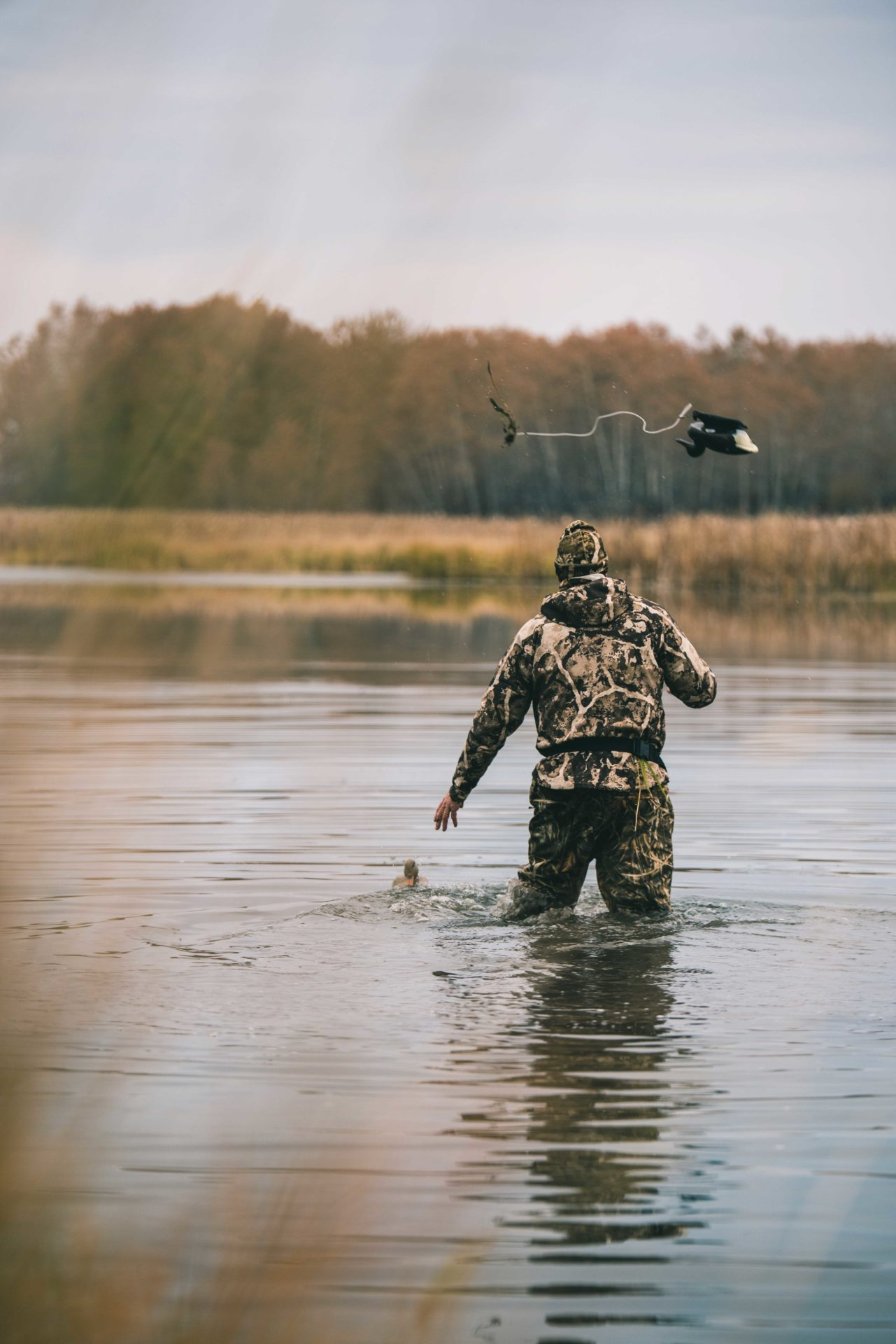 Although not essential, decoys are a great tool for tricking waterfowl into landing exactly where you want them. Photo by Curtis Hall.