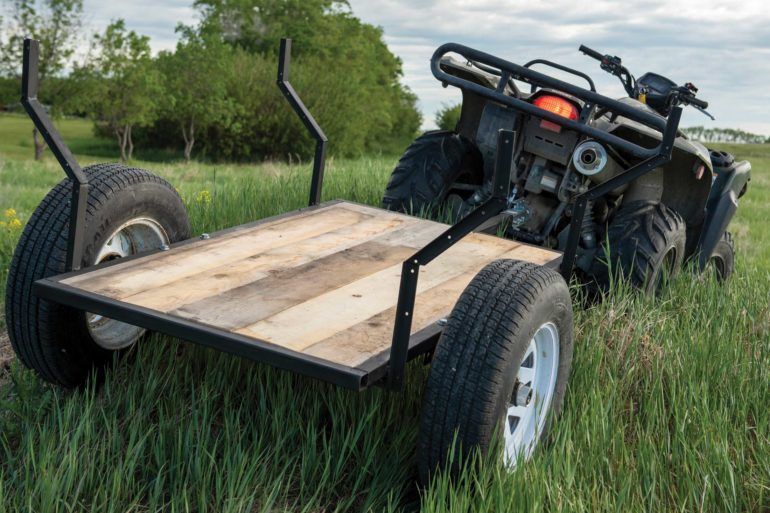 DIY ATV Trailer