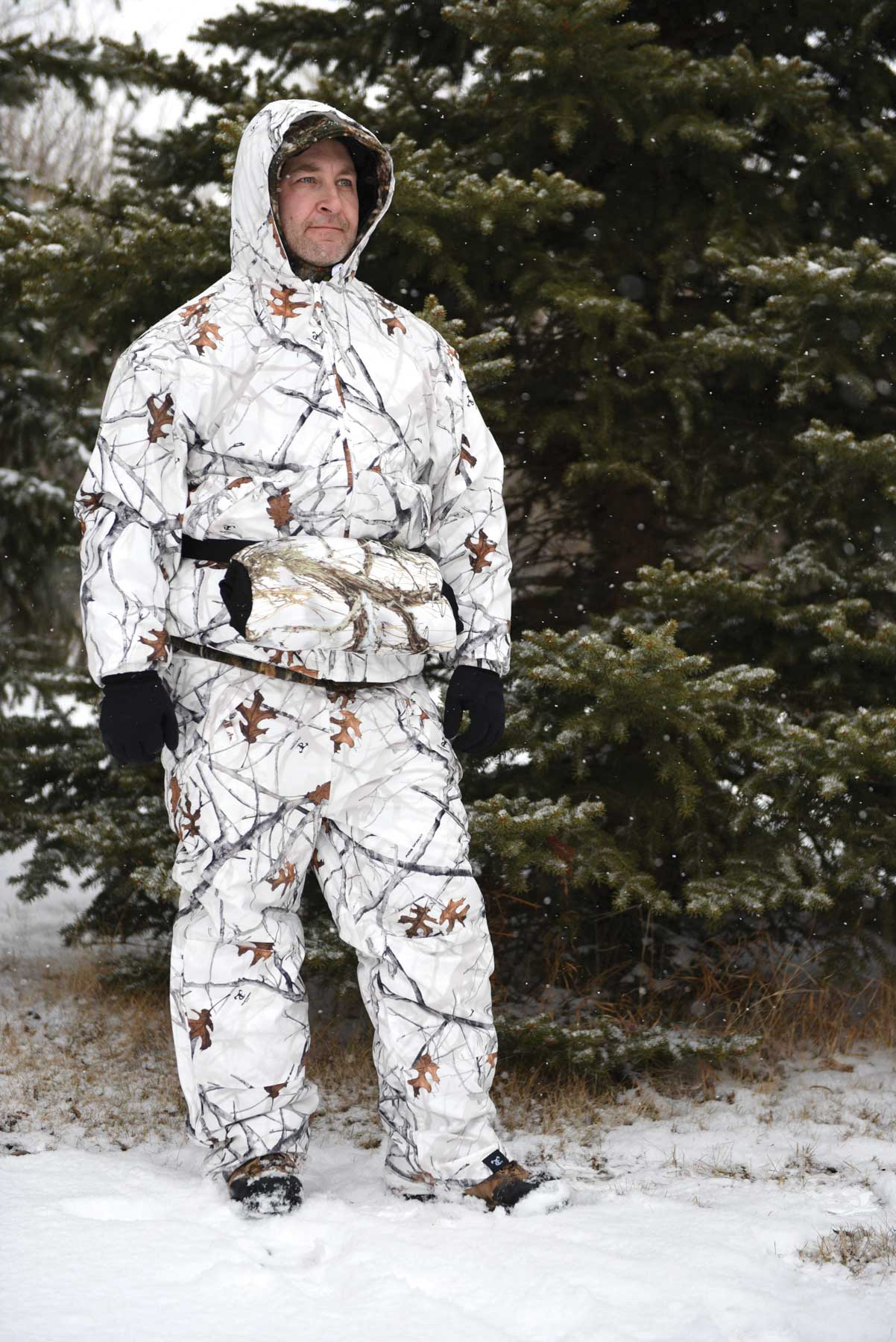 TrueTimber's cold weather camo.