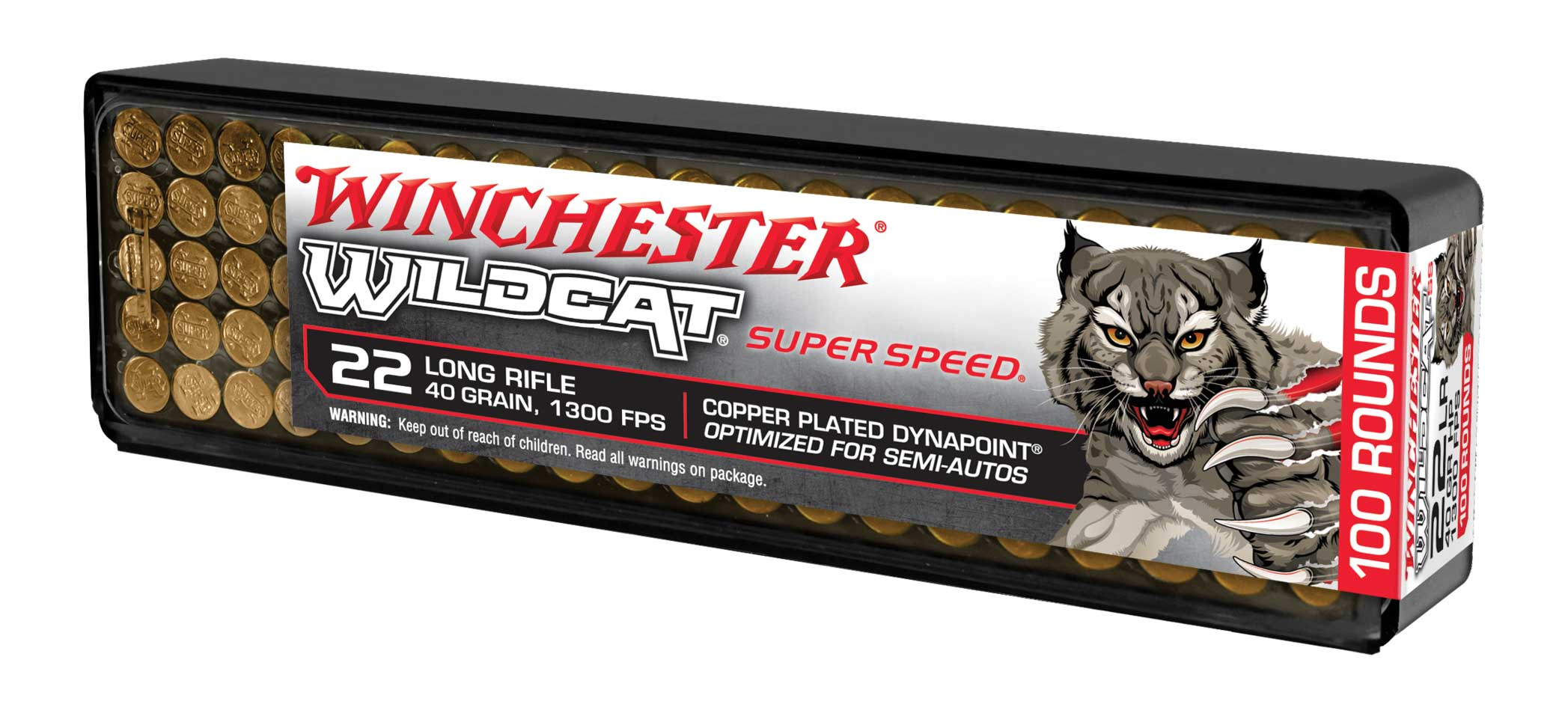 Winchester Wildcat Super Speed .22 ammunition