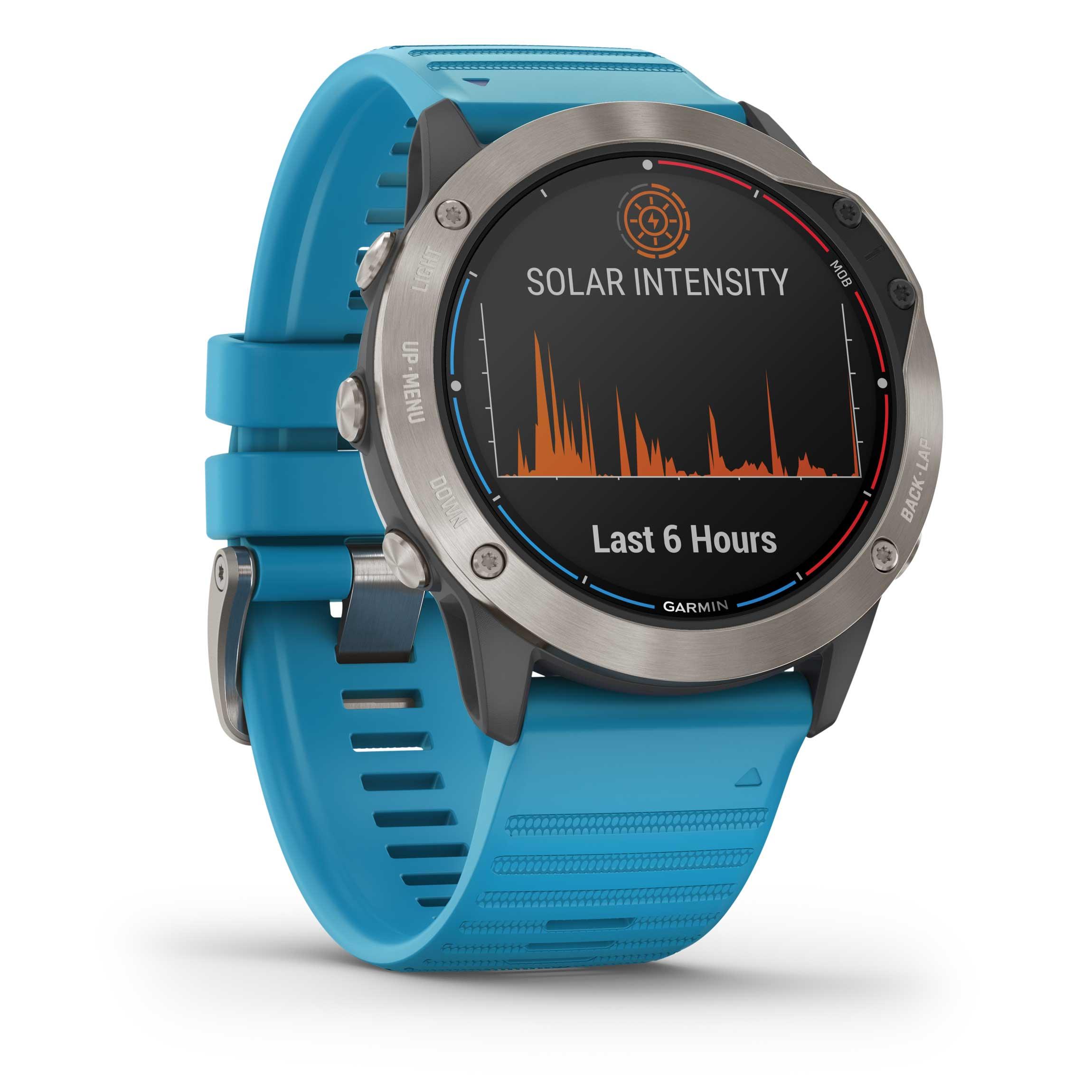 Garmin Quatix 6x Solar Watches