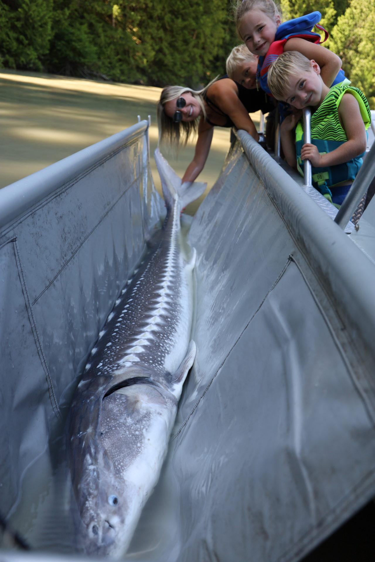 The Sturgeon Conservation Workshop was held to help educate the public about sturgeon and their dire need for protection.