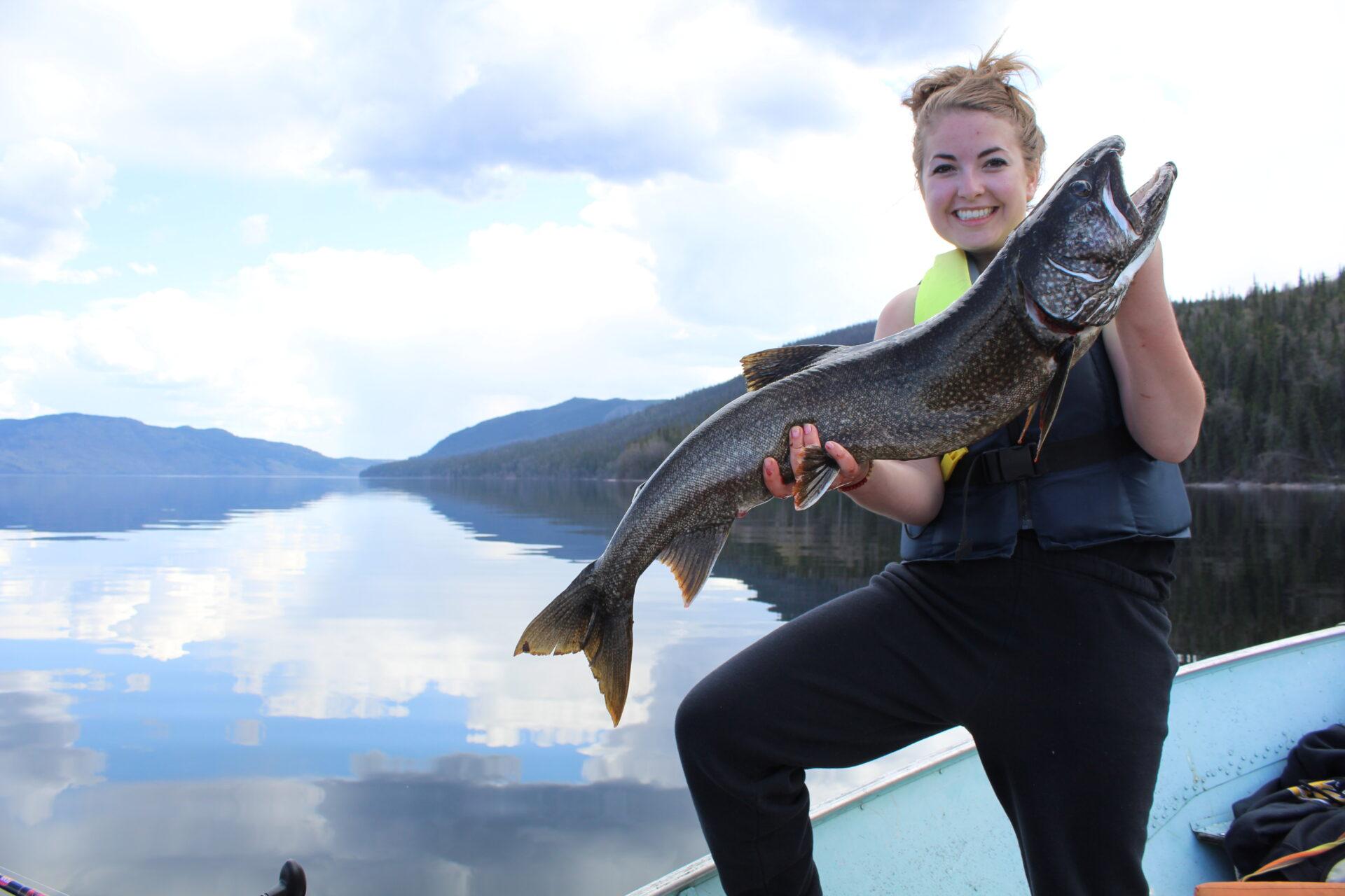 Lake trout. Credit: Raeanne O'Meara.