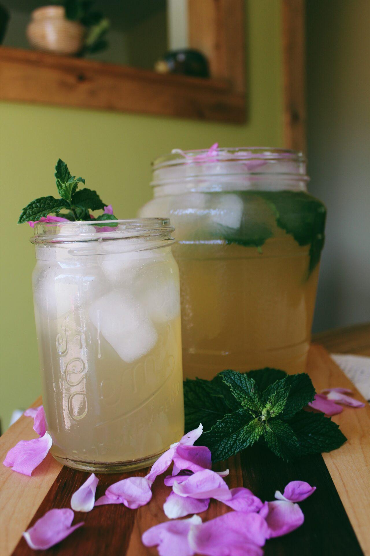Rose Petal Iced Tea. Credit: Raeanne O'Meara.