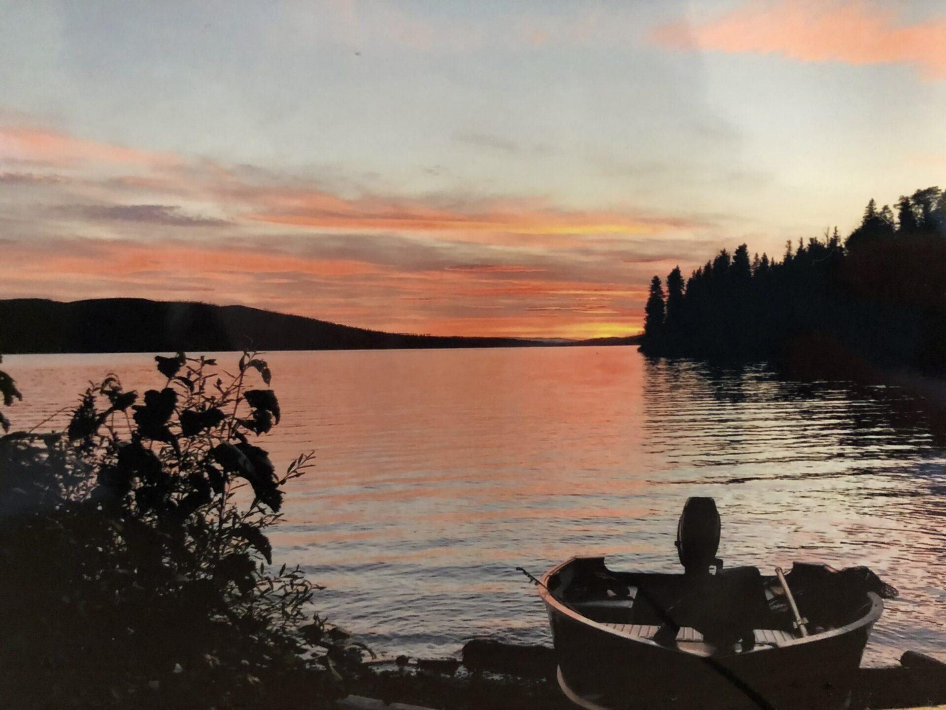 Fishing lake. Credit: Raeanne O'Meara.