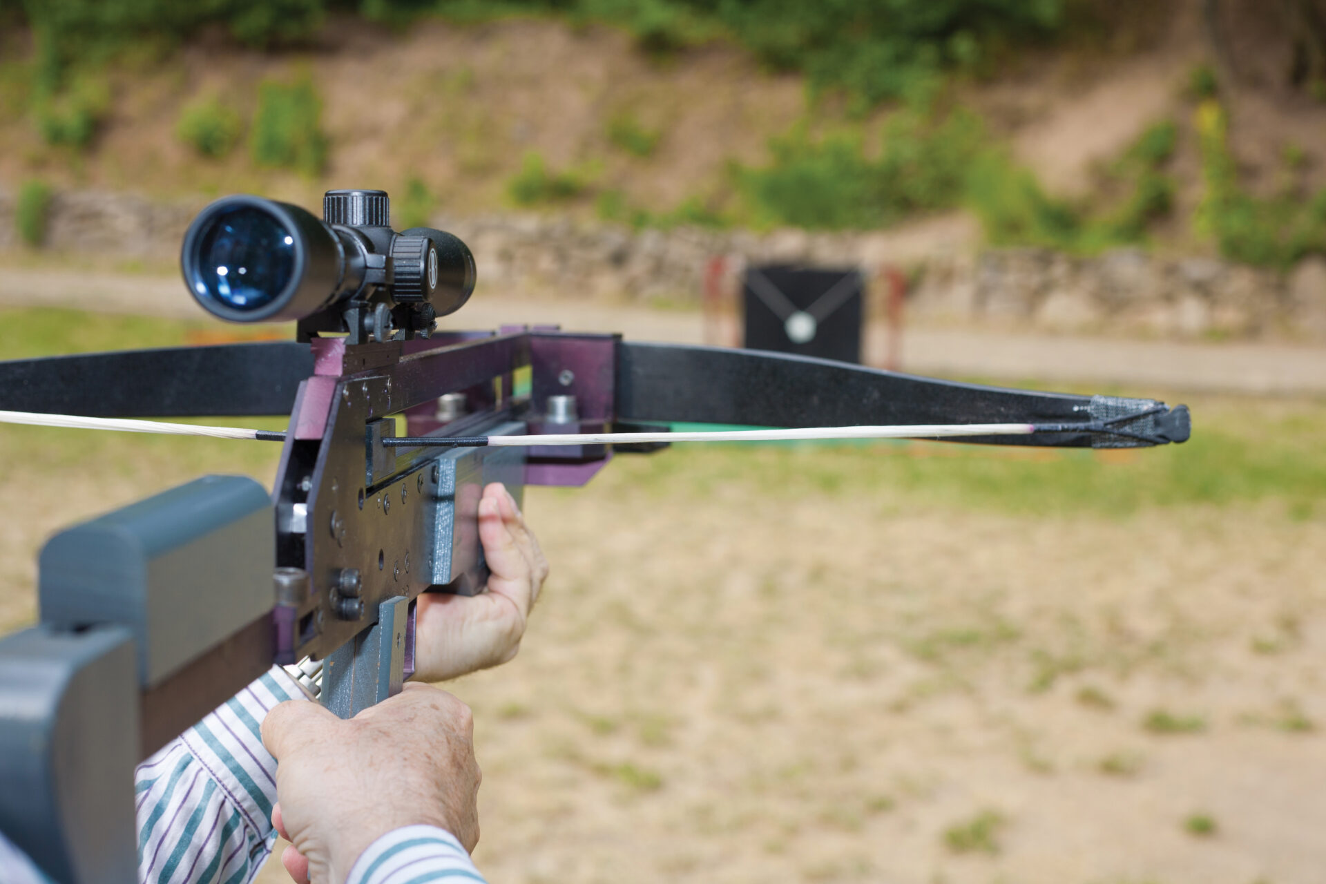 The author argues that crossbows to have their place in the hunting world, and that scopes on crossbows lead to ethical kills.