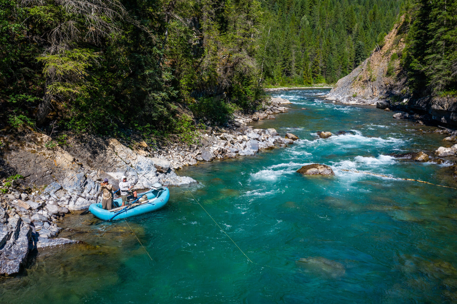 The East Kootenays area is often referred to as having some of the best dry fly-fishing opportunities in the entire province. Photo by Chase White.